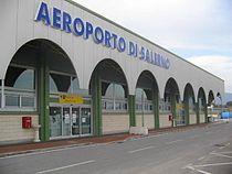 Salerno-Pontecagnano Airport (terminal building in 2009).jpg