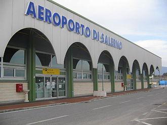 Salerno Costa d'Amalfi Airport - Terminal building