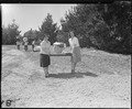 Salinas, California. Evacuees of Japanese ancestry arrive at this assembly center with their person . . . - NARA - 536164.tif