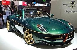 Alfa Romeo Disco Volante >> Alfa Romeo 8c Competizione Touring Disco Volante Wikipedia