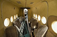 Salon of the passenger An-2 plane. RA-07326 (7166512854).jpg