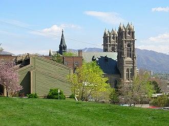 Cathedral of the Madeleine (Salt Lake City, Utah) - Image: Salt Lake City Catholic Cathedral