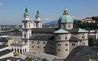 Salzburg Cathedral - South façade