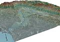 San Francisquito Watershed Satellite Map USGS.jpg
