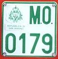 San Marino construction machine plate.jpg