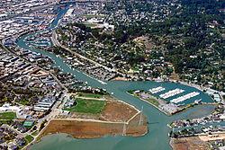 San Rafael California Canal Area aerial view.jpg