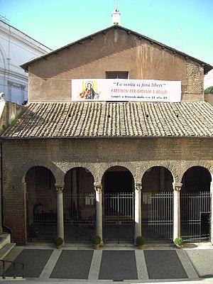 San Vitale, Rome - Façade of the Basilica of San Vitale