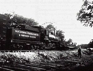 Fredericksburg and Northern Railway - San Antonio, Fredericksburg and Northern Locomotive 101.