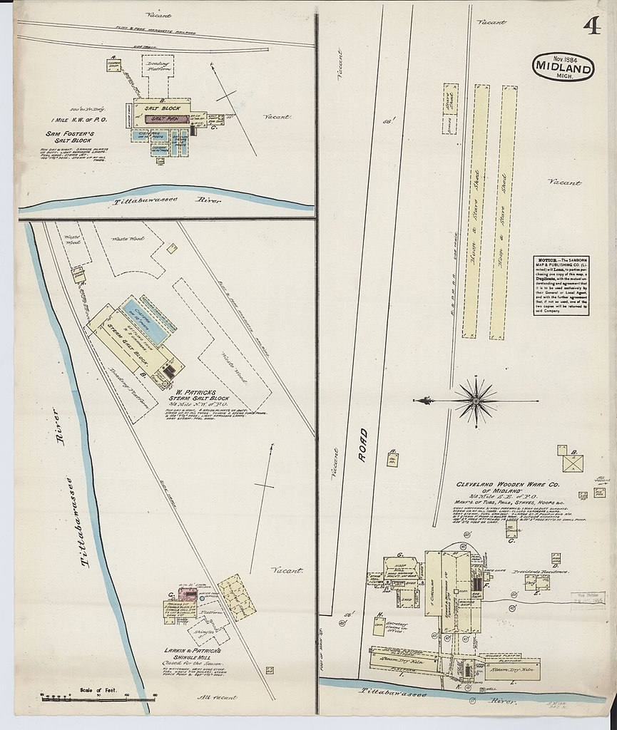 File Sanborn Fire Insurance Map From Midland Midland County