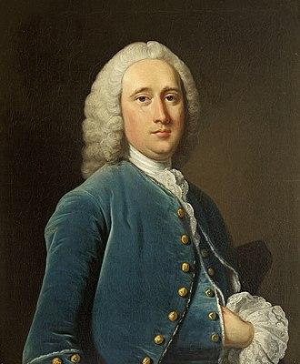 Sanderson Miller - Sanderson Miller, portrait c.1750