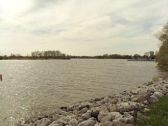 Sandy Creek (Michigan) - Image: Sandy Creek Delta