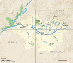 San Juan River Colorado River tributary Wikipedia