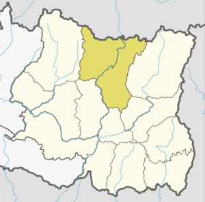 Location of Sankhuwasabha in province