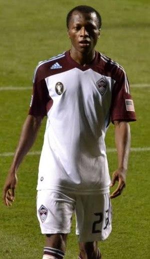 Gambian Americans - Image: Sanna Nyassi Colorado Rapids 2011 vs Chicago Fire
