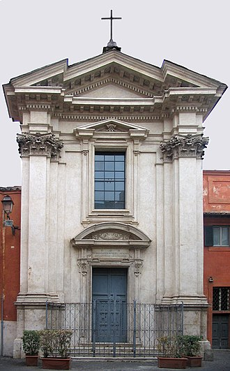 Sant'Egidio, Rome - The church of Sant'Egidio