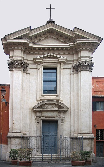 Church of Sant'Egidio, Rome, seat of the Community Sant'Egidio.jpg