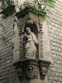 Sant Pau, a la Casa de Convalescència.jpg