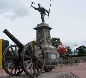 Alajuela (canton) - Image: Santamaria, Juan monumento Alajuela 04