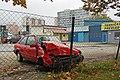 Sarajevo Grbavica Tehnicki-Pregled Car-Ford Write-Off 2011-10-23.jpg