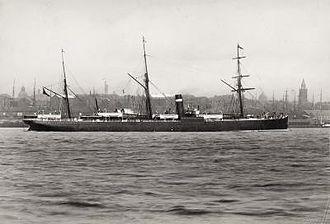 Allan Line Royal Mail Steamers - The Allan Line steamship SS Sardinian