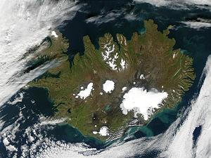 Foto del ghiacciaio da WikiMedia