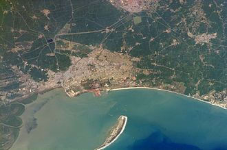 Kakinada - Kakinada aerial view