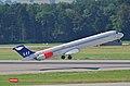 Scandinavian Airlines MD-82; SE-DIN@ZRH;20.08.2009 551cc (4328953824).jpg