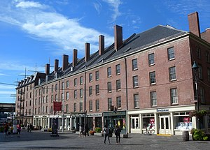 South Street Seaport - Part of Schermerhorn Row, early 19th-century mercantile buildings