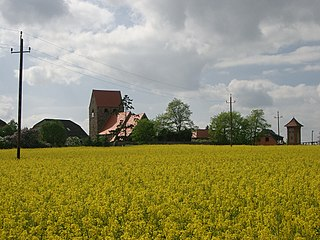 Altmark region in the north west of Saxony-Anhalt, Germany