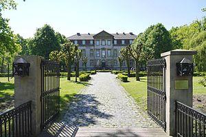 Herzebrock-Clarholz - Portal (gate) of Schloss Möhler in Herzebrock-Clarholz