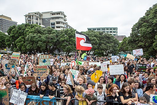 School Strike for Climate in Wellington 13