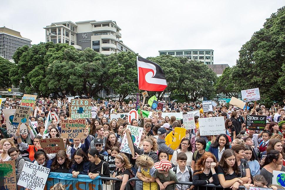 School Strike for Climate in Wellington 13