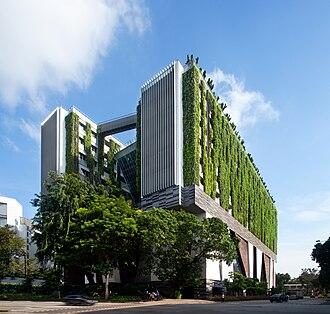 WOHA - School of the Arts, Singapore 2005-2010