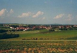 view of Schwaikheim, Baden-Württemberg, Germany
