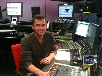 Scott Mills - Scott Mills in the Radio 1 studios, 2011
