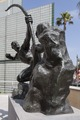 Sculpture- Herakles-The Archer by Emile-Antoine Bourdelle at) Los Angeles County Museum of Art in California LCCN2013632503.tif