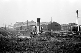 ST Sea Alarm - Sea Alarm laid up in Cardiff Docks in 1976, before restoration