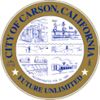 Official seal of Carson, California