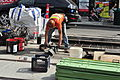 Seattle - laying trolley tracks on Broadway at Pine 23.jpg