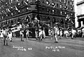Seattle Potlatch Parade showing float drawn by people dressed as frogs, 1912 (SEATTLE 1440).jpg
