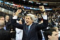 Secretary Kerry Celebrates as Yale Scores First Goal in Game Against Harvard (11899076673).jpg
