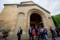 Secretary Kerry Exits the Sioni Church in the Historic District of Tbilisi (28098612806).jpg