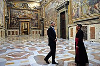 Secretary Kerry Receives a Tour of the Vatican from the Vatican Protocol Chief (11948814624).jpg