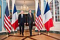 Secretary Kerry and French Foreign Minister Ayrault Walk to Address Reporters in Washington (27837909524).jpg