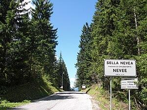 Sella Nevea - Pass road