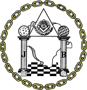 """Freemasonry in Mexico - Seal of the Grand Lodge """"Guadalupe Victoria"""" of Durango State"""