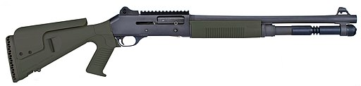 Semi-automatic combat shotgun
