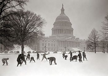 Senate Pages snowball fight.jpg