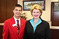 Senator Stabenow meeting with a member of the Family, Career and Community Leaders of America (FCCLA) (10039444705).jpg
