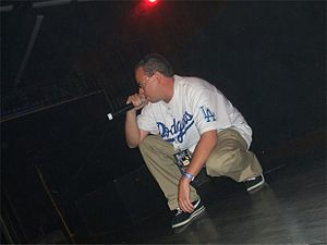 Serio (rapper) - Serio at a concert in 2009.